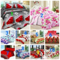BED COVER ONLY BUNGA 3D FATA UK.KING/QUEEN