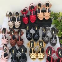 Sepatu YSL Tribute Heels 10 cm Mirror Quality
