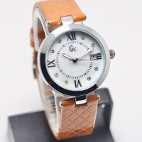 jam tangan wanita gc silver tgl on new arrival