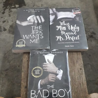 novel 3 paket a wattpad romance by yessi n the bad boy