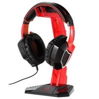 Sades Universal Gaming Headphone Hanger - Red