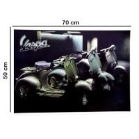 Poster Gambar Vespa Classic