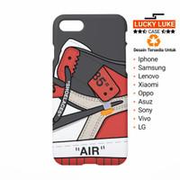 off white air jordan case Samsung s6 s7 s8 edge Iphone 5s 6 7 8 x plus