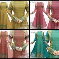 Jual Maxi Dress Chiara wanita model gamis muslimah baju pesta terbaru Murah