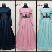 Jual Gaun gamis pesta model baru baju kondangan muslimah Murah