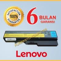 Baterai Laptop LENOVO 3000 B470 B475 B570 Series - 6 CELL