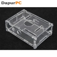 Case Acrylic untuk Raspberry Pi Model B | Transparent MURAH