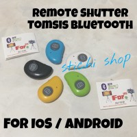 TOMSIS Tombol Narsis Remote Bluetooth Shutter for HP