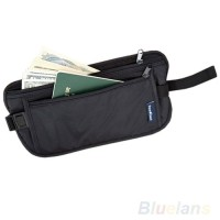 Dompet pinggang Tas Pinggang Hidden Travel wallet Waist Bag MURAH