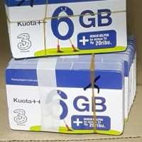 voucher isi ulang data tri 6 gb kuota vocer three regular 6gb 24 jam