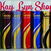KENNY HAIR SPRAY COLOR 50ml (Ada 5 Macam Warna)