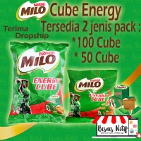Milo Cube 50 pcs per pack