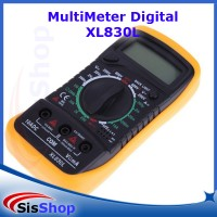MULTIMETER AVOMETER MULTITESTER DIGITAL XL830L LAYAR BESAR