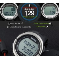 SKMEI Running Watch jam tangan ( pedometer 3d heartrate casio dg1058