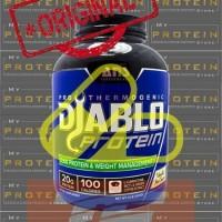 Jual ANS DIABLO PROTEIN 1 Lbs WHEY + FAT BURNER susu gym protein ECER