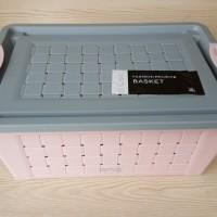 Weaving Storage   Keranjang Plastik   - 32x26x15cm
