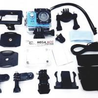 Waterproof Sports Action Camera 4k Ultra Hd 12mp 2 Lcd Display