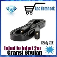 Harga kabel hdmi 2m v1 4 laptop ke tv ke dvr cctv ke komputer | WIKIPRICE INDONESIA