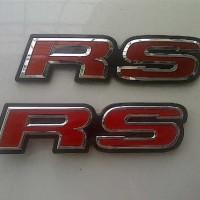 Emblem RS Red JDM Style Honda Ori For Logo Jazz/Civic/Brio/Mob