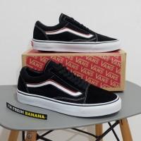 Sepatu Vans Old Skool The Blends Black White DT Premium oldskool Hitam
