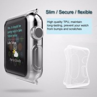 APPLE WATCH SERIES 2 38 MM ULTRA THIN SILICONE COVER PROTECTOR CSP92