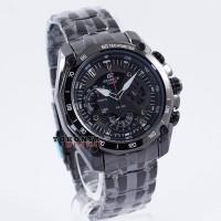 Jam Tangan CASIO Edifice EF-550BK Full Black Non-Redbull