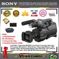 SONY HXR-MC2500 AVCHD Camcorder + SanDisk Extreme 32gb + Battery + Bag