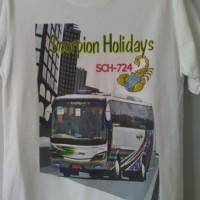 Kaos Bis Scorpion Holidays, Holiday, Pariwisata, Shd, Scania, Bus,