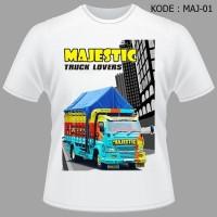 Kaos Bis KAMT Kontes Akbar Modifikasi Truk Baju Truck Majestic Bus