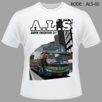Kaos Bis ALS, SHD, Sumatra, Bus, Jetbus, Bmc, Bismania, Bismania