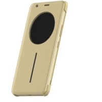 Smart Casing Cover HP Infinix Smart Cover Note 4 X572 Gold