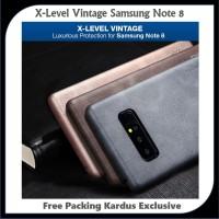 Casing HP Samsung Galaxy Note 8 Leather Vintage Pelindung HP Terbaik