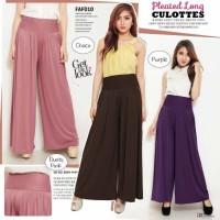 Celana Kulot Wanita Bahan Spandex Korea Import Cantik