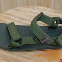 Sandal Gunung Casual Outdoor Teva Men Original Universal Marled Olive