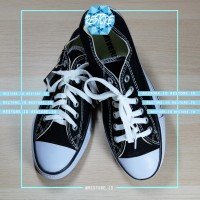 SEPATU CONVERSE ALL STAR BLACK GRADE ORI LOW