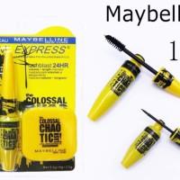 Maybelline COLOSSAL 3IN1 SET / MASCARA + EYELINER + POWDER 3 IN 1