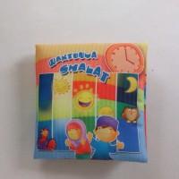 Harga buku bantal kain softbook bayi waktunya | WIKIPRICE INDONESIA