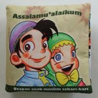 Harga buku bantal kain softbook bayi assalammu | WIKIPRICE INDONESIA