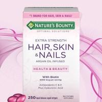 Nature's Bounty Hair Skin And Nails Multivitamin Membuat Rambut, Kulit Dan Kuku Sehat & Indah.