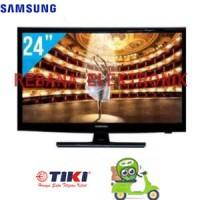 """Samsung 24"""" Led Tv 24h4150ar With Usb Movie"""