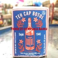 Teh Cap Botol BIRU Tubruk 40 g |Wangi Bunga Melati Jasmine Hitam Murah