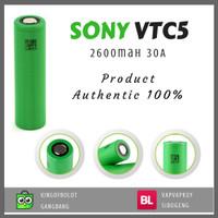 BATRE BATERAI VAPOR 18650 ORIGINAL SONY VTC 5 VTC5 2600mAh SUBOX PICO