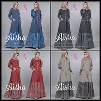 gamis aiisha dress ori shofiya