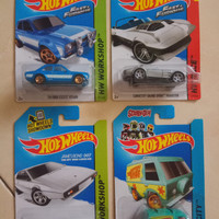 Hot Wheels Movie series (james bond, Fast Farious, Mystery machine)