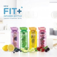 New Fit+ Infused Bottle ( botol infused water ) Isi 4 beragam warna