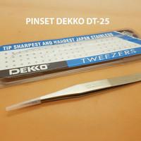Pinset DEKKO DT-25 Anti Magnetic Pinset Dekko DT25 Non Magnetic 12Cm