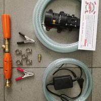 Mesin terbaru 120PSI 5LPM 8.5BAR Alat Cuci Motor AC Steam p