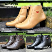 sepatu high heels wanita pantofel resmi kantor formal kulit murah cewe