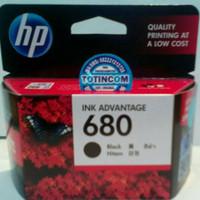 Cartridge HP 680 Black untuk printer HP DESKJET 1115, 1118, 2135, 2138