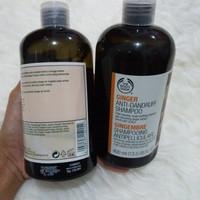 Bodyshop shampoo ginger anti dandruff 400ml